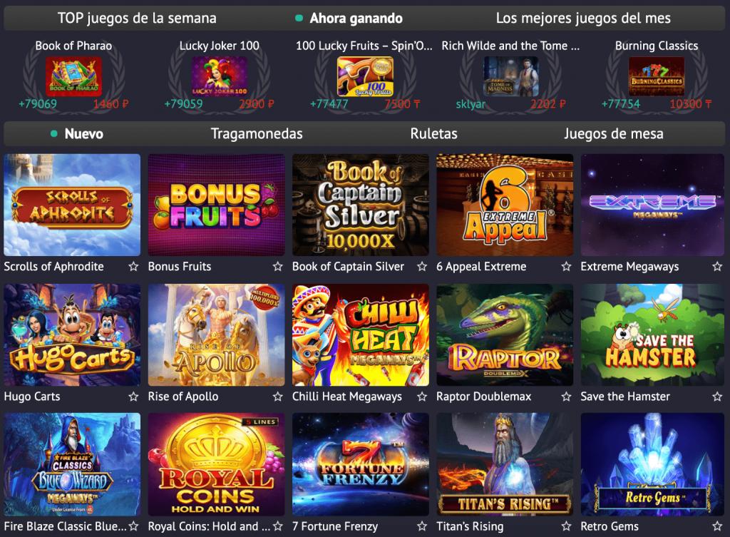 Pin Up Casino Perú - máquinas tragamonedas gratis